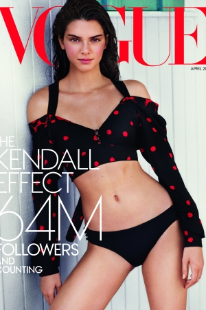 Kendall Jenner on Vogue's Special Issue.