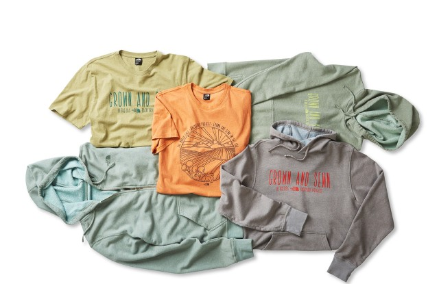 The Backyard Project comes in seven styles and more than eight garment-dyed colors.