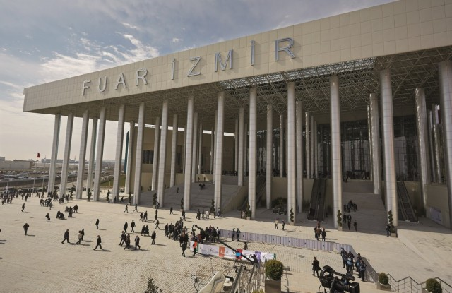 The Fuar Izmir exhibition center.