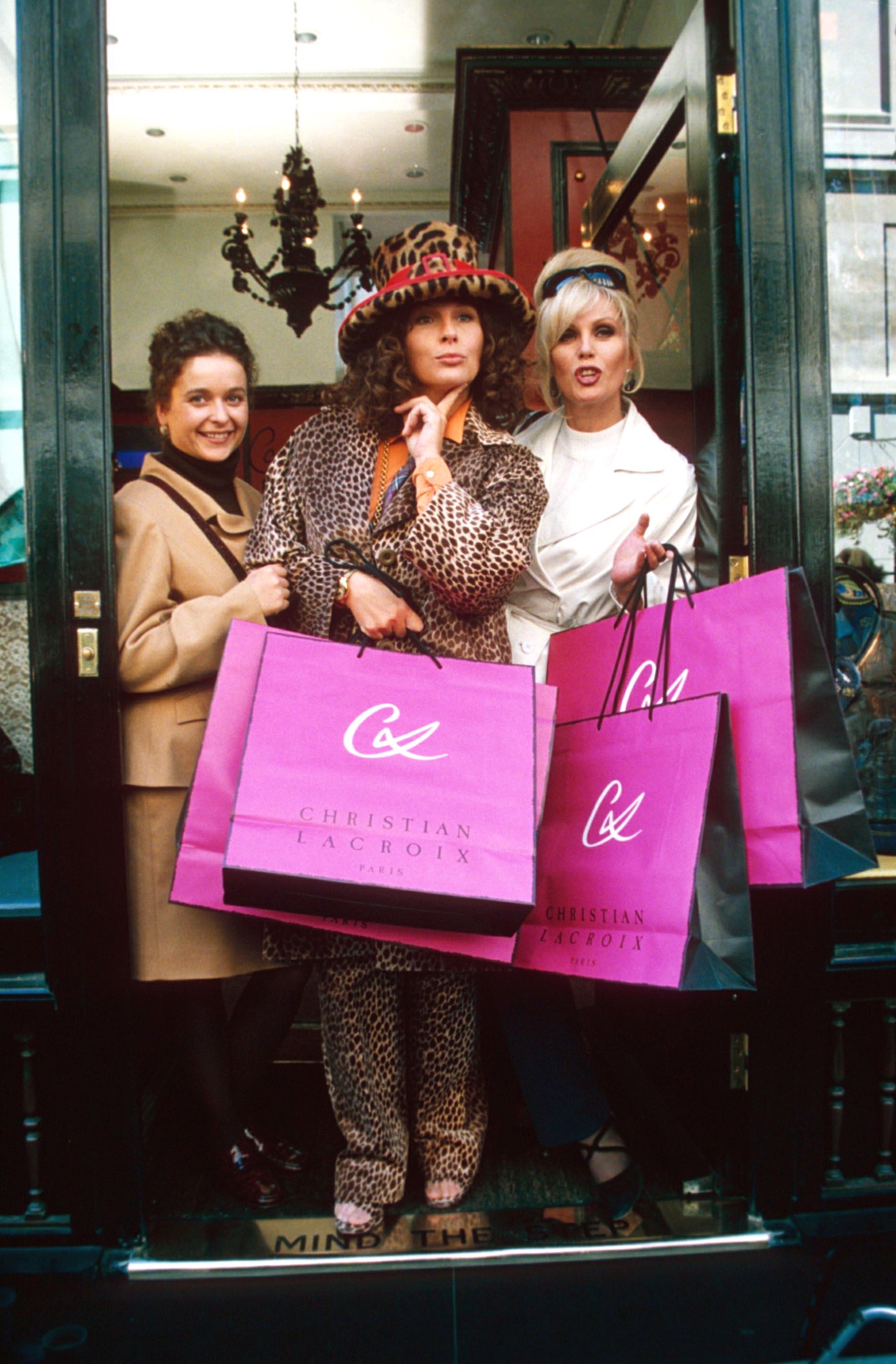 Absolutely Fabulous: The Movie Rebecca Hale Joanna Lumley Jennifer Saunders