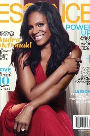 Essence's April 2016 cover.