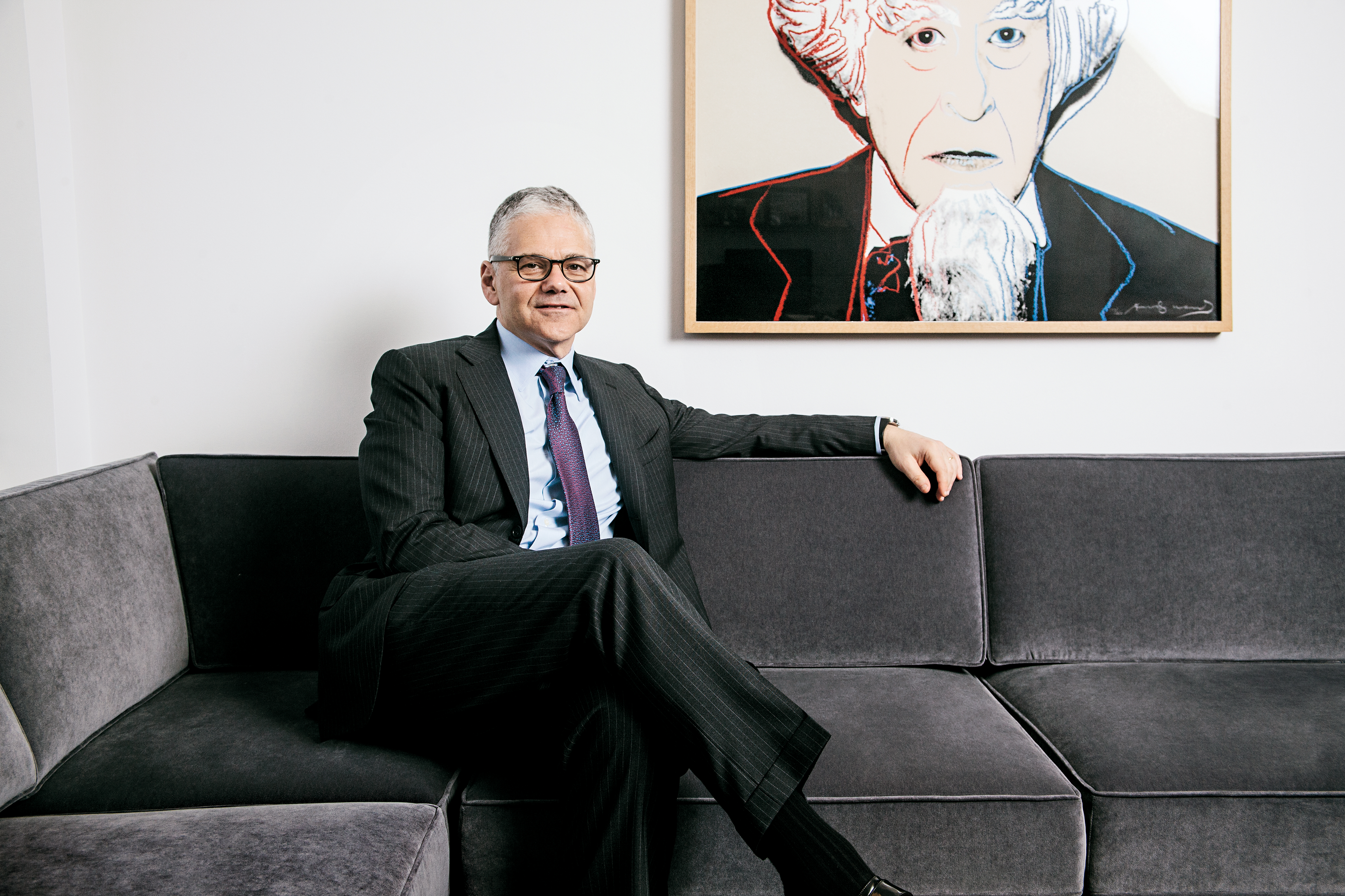 Movado will mark its 135th anniversary at Baselworld, and ceo Efraim Grinberg discussed the storied brand's history and what's ahead.