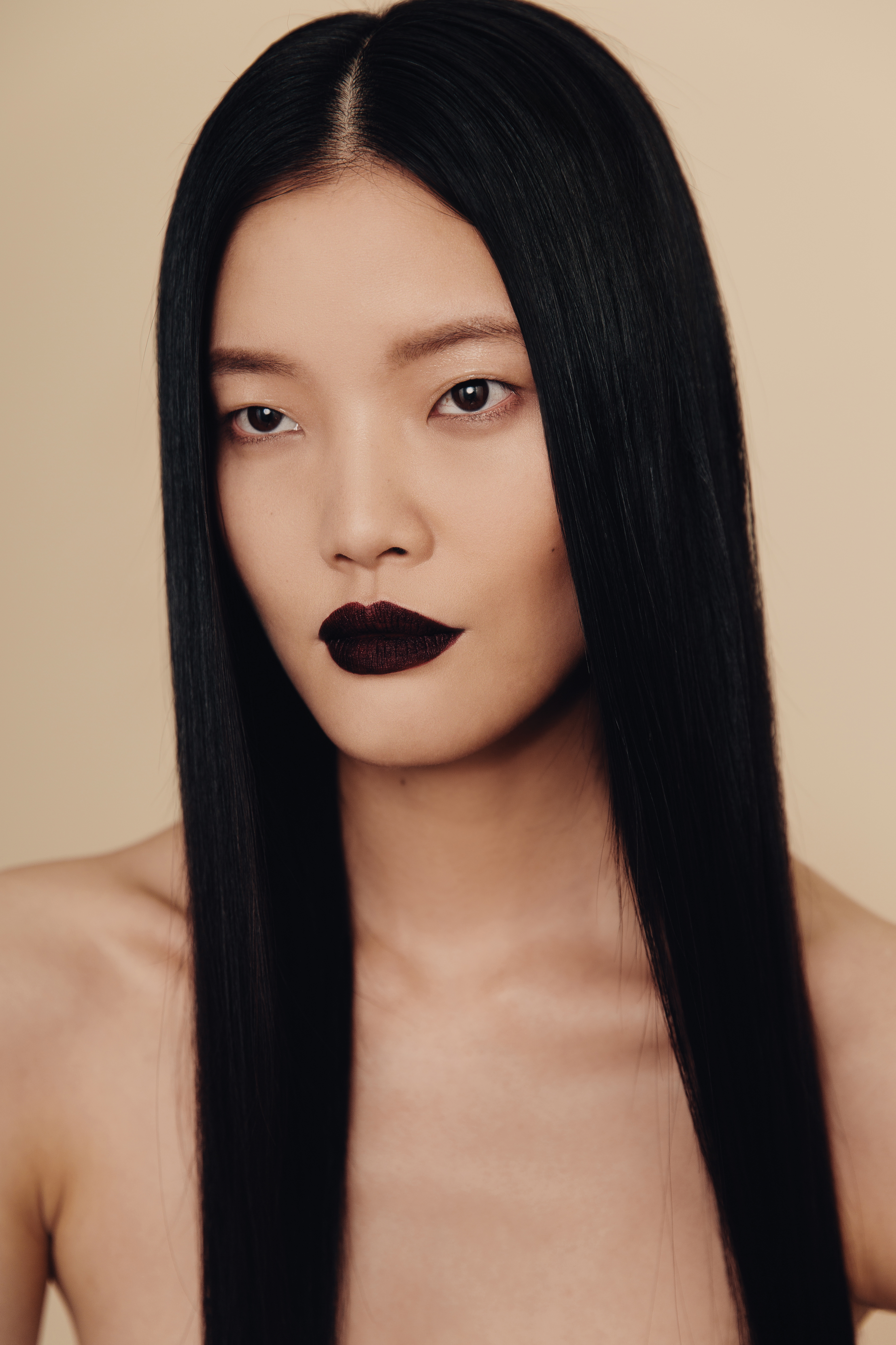 Backstage Makeup Artists Focus On