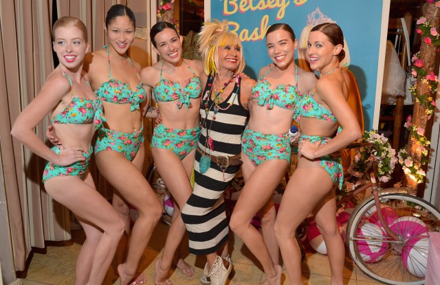 Betsey Johnson at the Sunset Tower Hotel