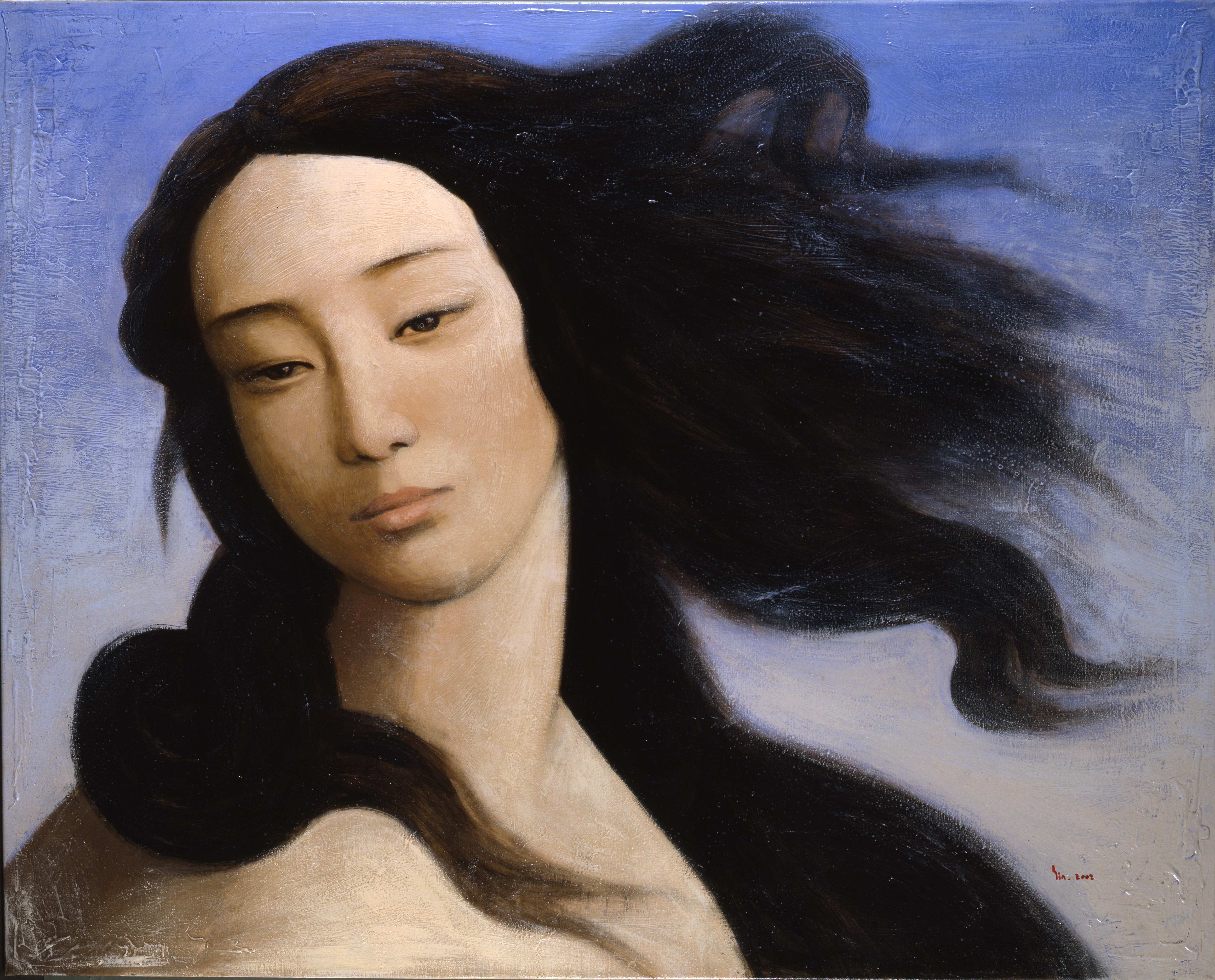Venus after Botticelli 2008 by Xin Yin