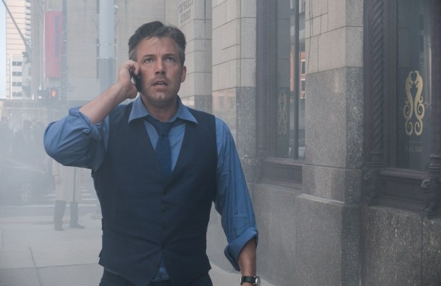 Ben Affleck in the role of Bruce Wayne