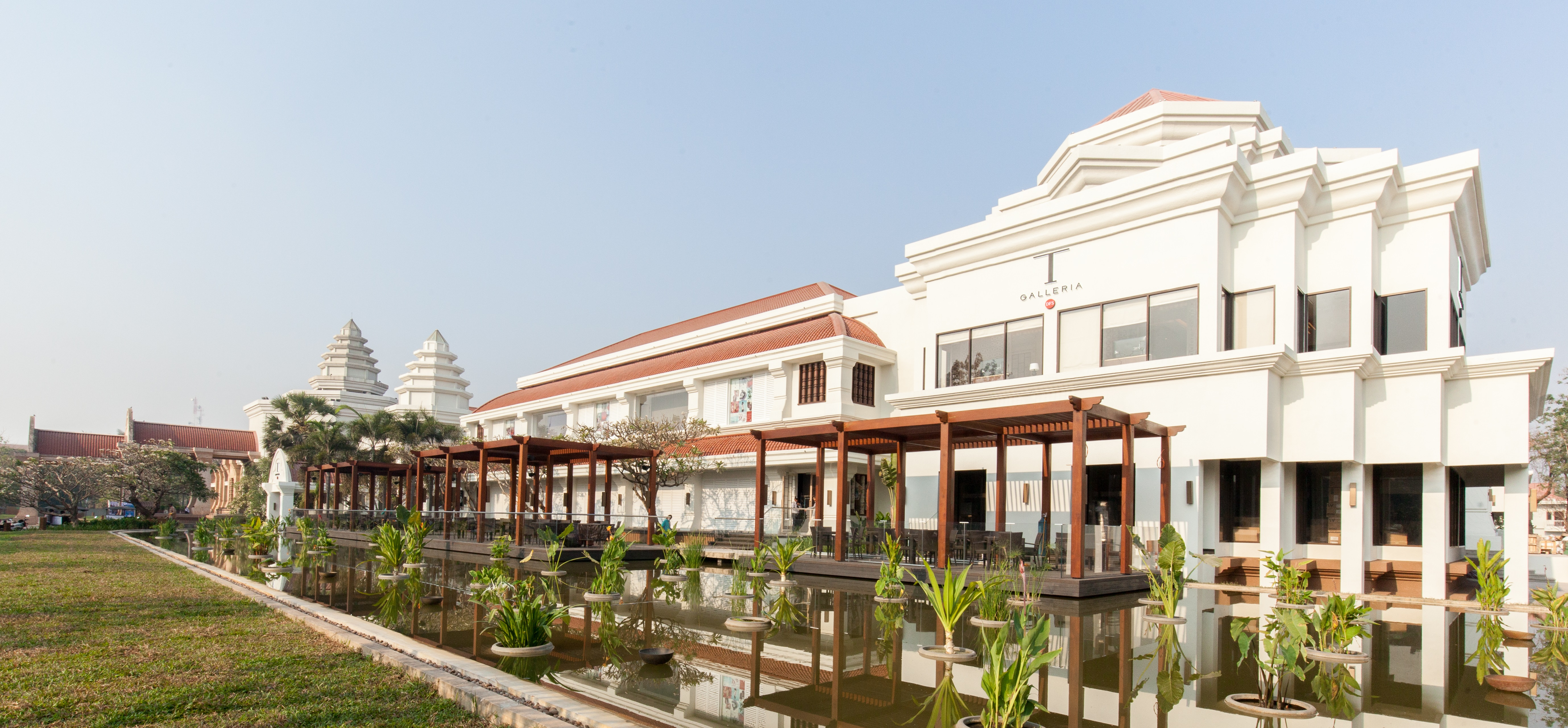 The T Galleria store in Siem Reap