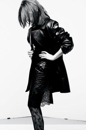 Carine Roitfeld photo shot by Karl Lagerfeld