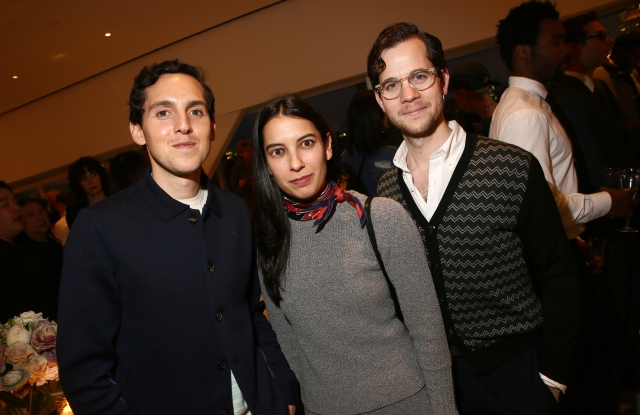 Alex, Samantha and Matthew Orley 2016 CFDA Fashion Awards Nominee & Honoree Announcement Party