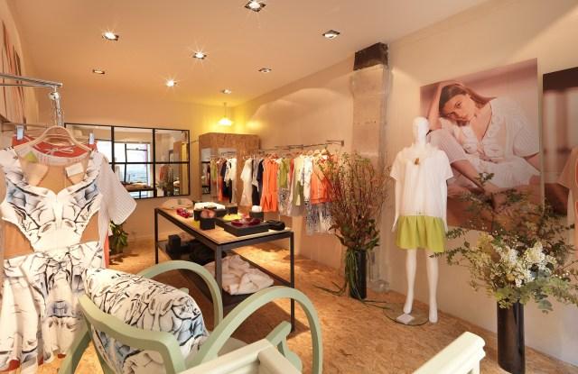 Iris Cantabri's new Marais pop-up store