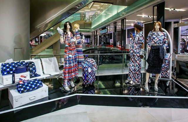 The Chanel pop-up at Pedder on Scotts
