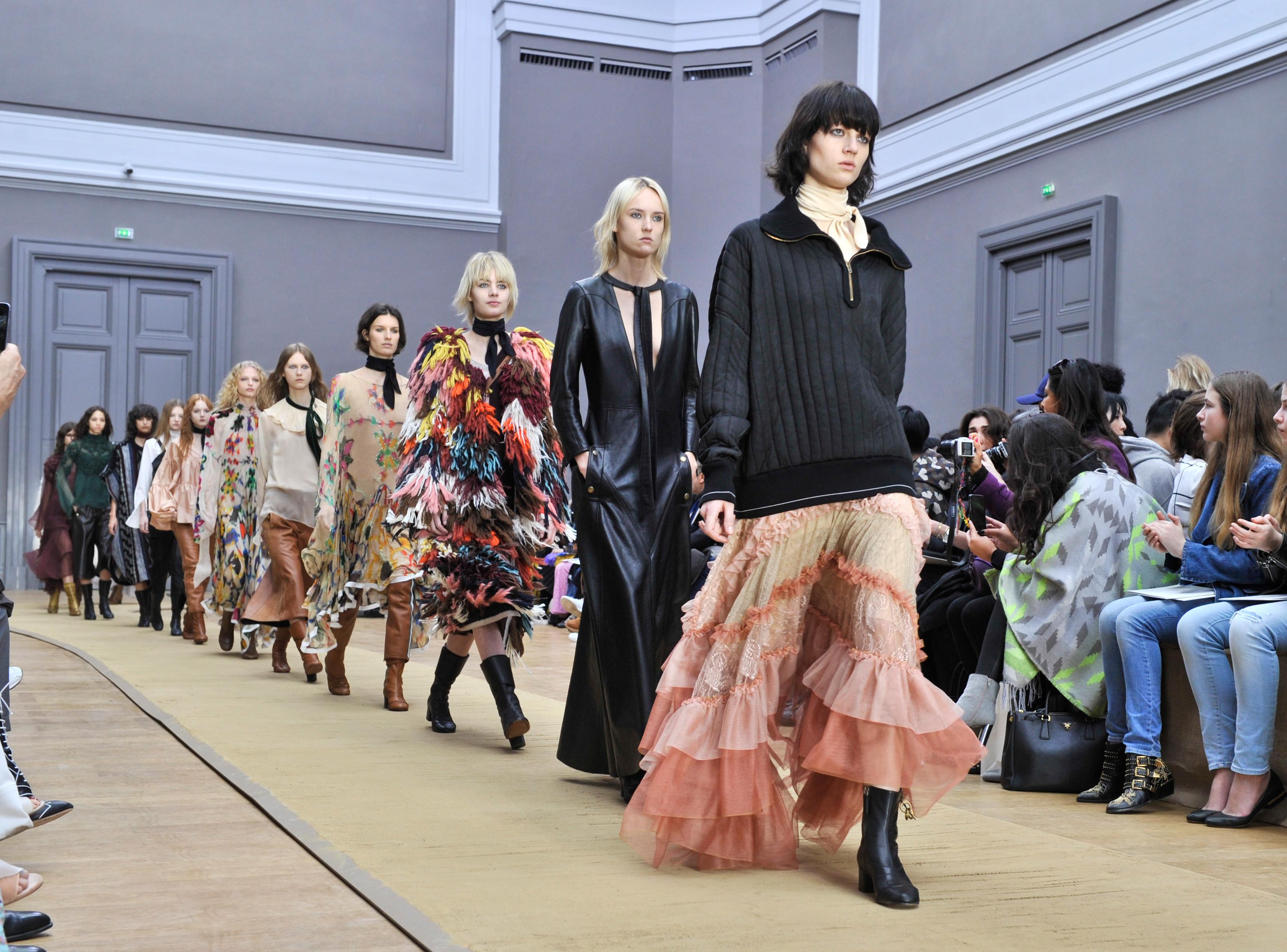 Chloe show, Autumn Winter 2016, Paris Fashion Week, France - 03 Mar 2016