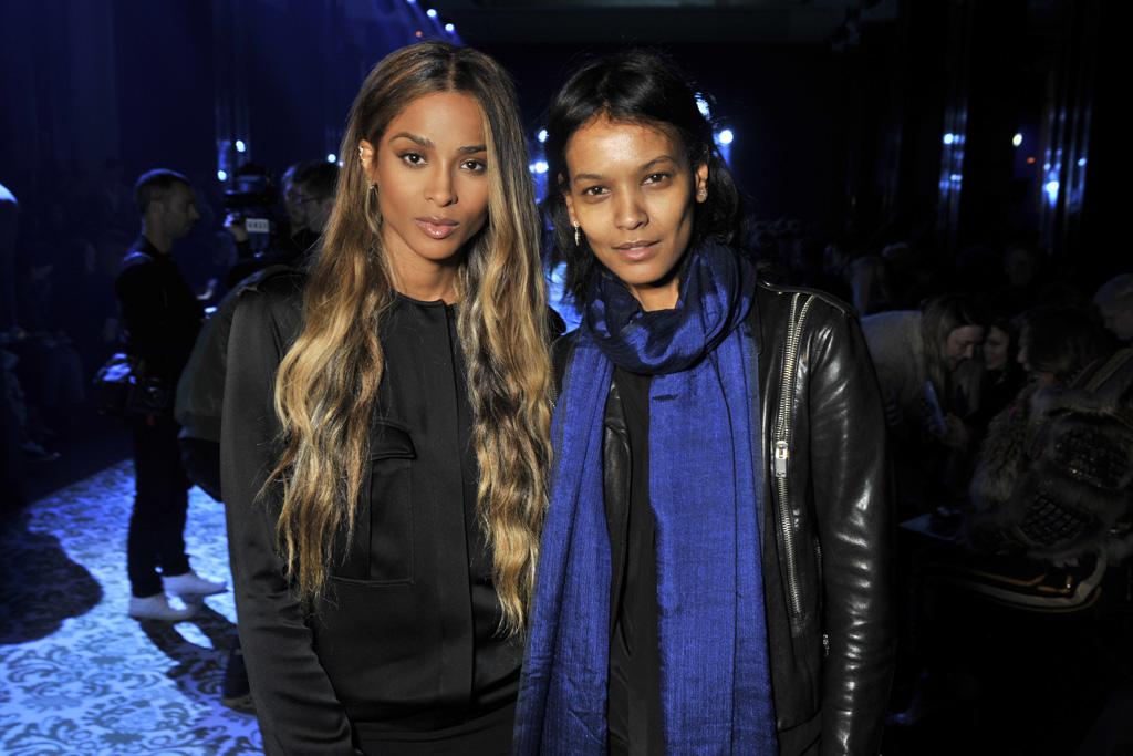 Ciara and Liya Kebede