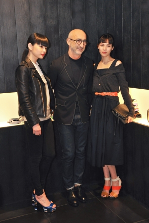 Pierre Hardy at the party in Tokyo