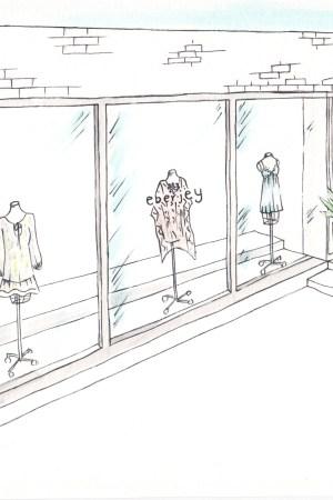 Eberjey NYC Store Illustration
