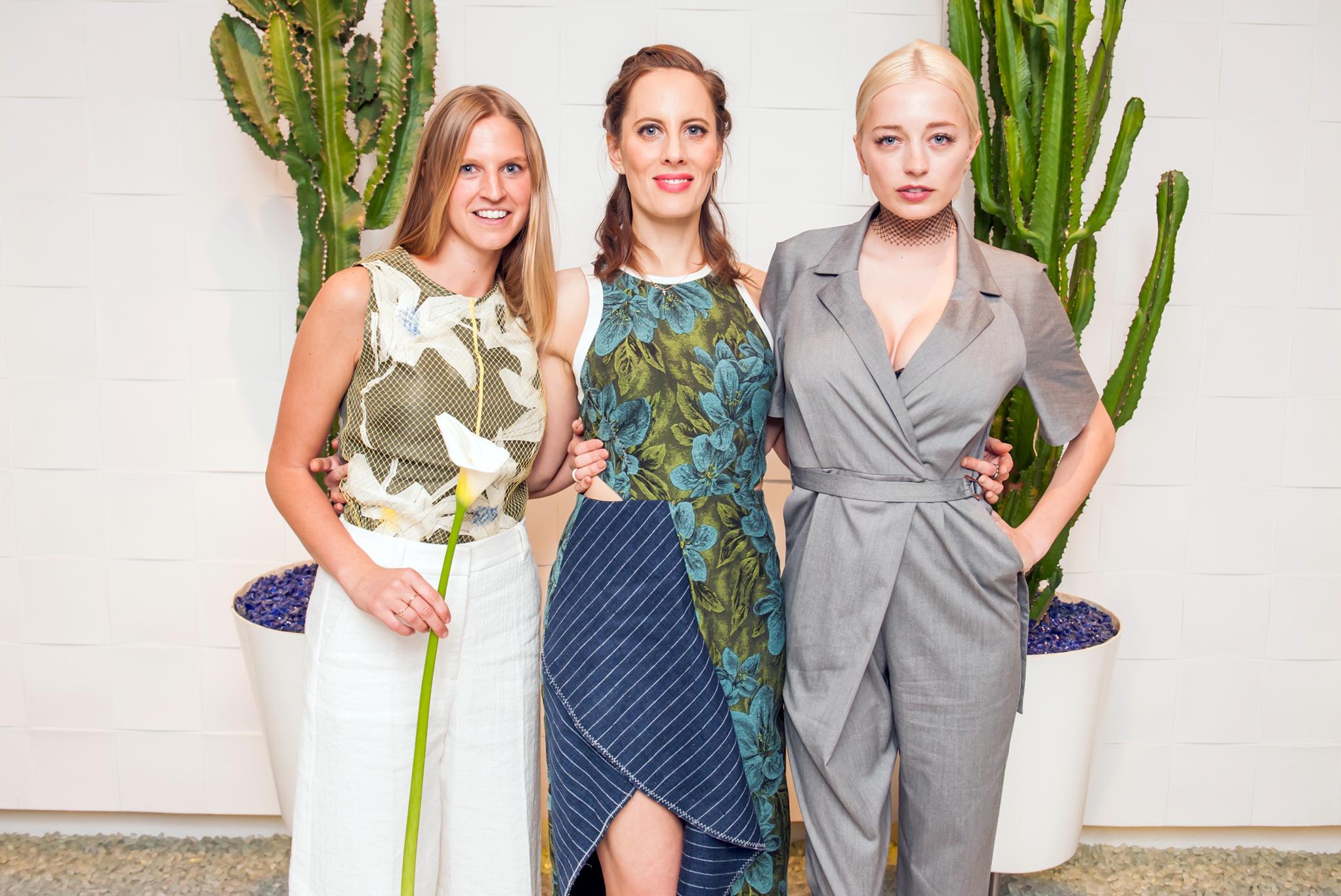 Ashleigh Parsons, Liz Goldwyn and Caroline Vreeland.