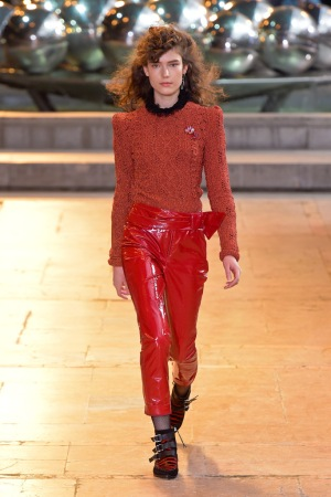 A look from Isabel Marant's fall 2016 ready-to-wear show