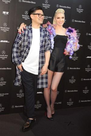 Keita Maruyama and Gwen Stefani