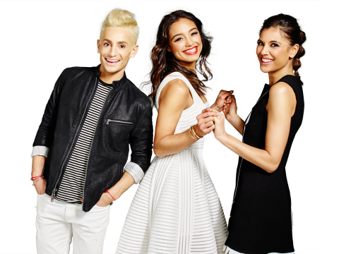 Amazon Style Code Live hosts Rachel Smith, Lyndsey Rodrigues and Frankie Grande.