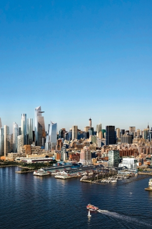 Hudson Yards, once completed, will redefine the skyline of Manhattan.