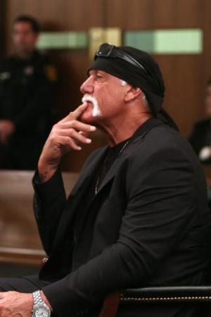 Hulk Hogan in court.