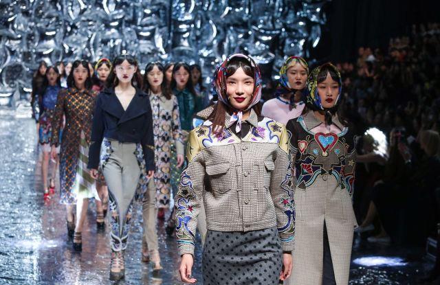 The Mary Katrantzou show in Beijing