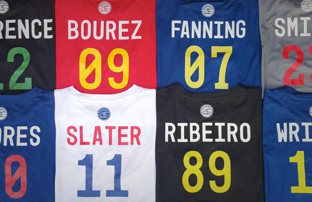 World Surf League athlete jerseys
