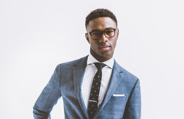 A look from Indochino.
