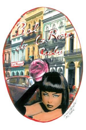 Sketch by Karl Lagerfeld for Bal de la Rose