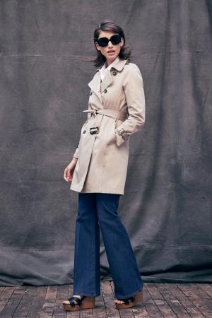 A look from Gerard Darel's capsule collection inspired by Jackie Kennedy
