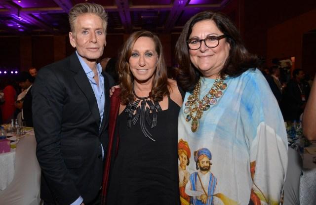 Calvin Klein, Donna Karan, and Fern Mallis