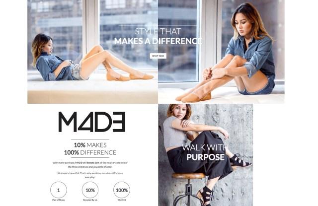 M4D3shoes.com