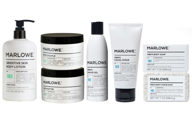 An assortment of Marlowe products, developed exclusively by Project Underground for Target.