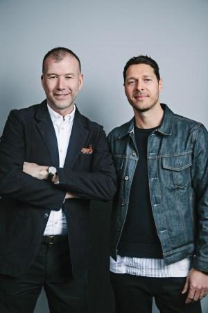 Kevin Harter and Pierre-Henri Mattout Men's Wear Summit 2016