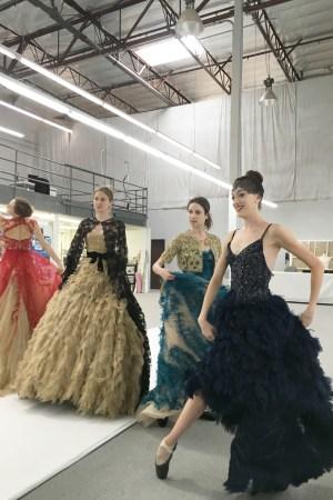 Monique Lhuillier Designs Decor, Art Installation for Los Angeles Ballet Gala