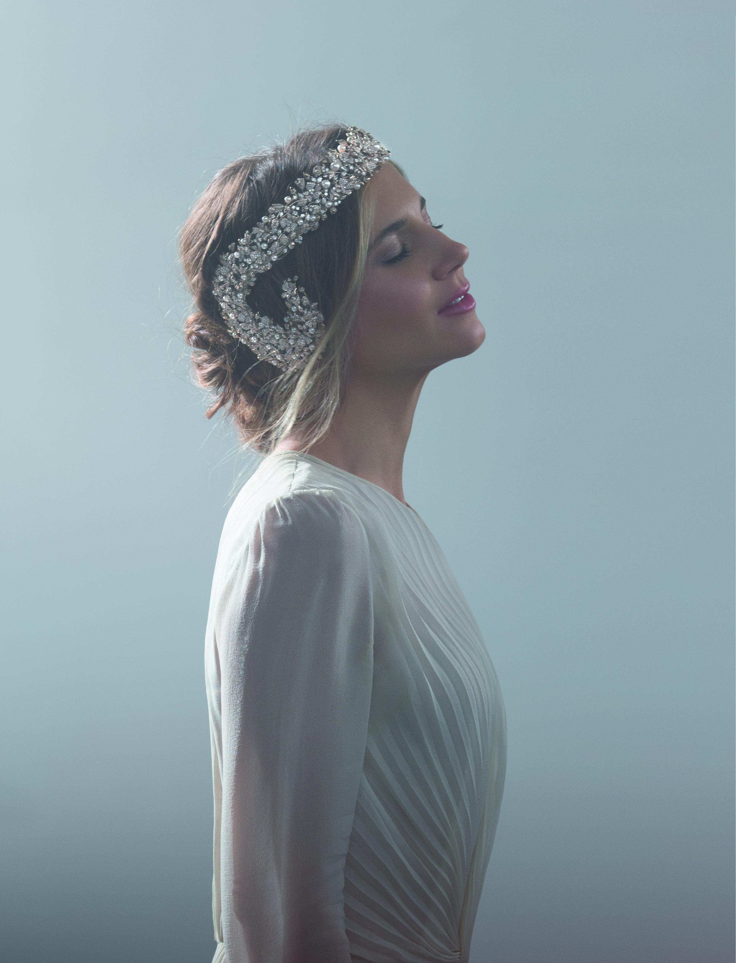 Nicoletta Romanoff wearing the Sveva Tiara