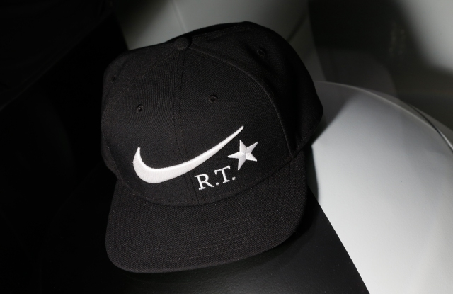 A hat from the Riccardo Tisci's NikeLab x RT: Training Redefined capsule collection.