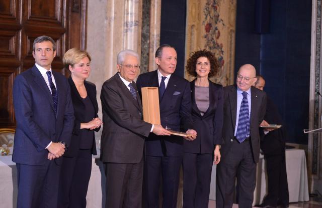 Gildo Zegna at the Leonardo Awards