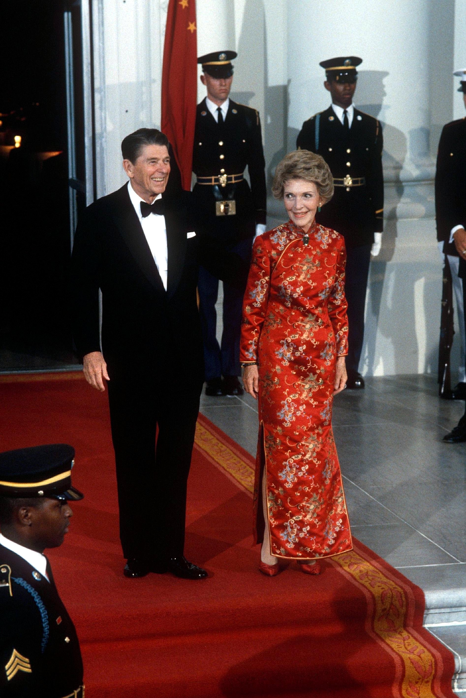 Ronald and Nancy Reagan