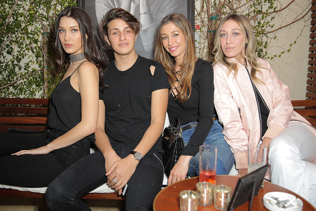 Bella, Anwar, Marielle and Alana Hadid Joe's Jeans x Bella Hadid Campaign Launch