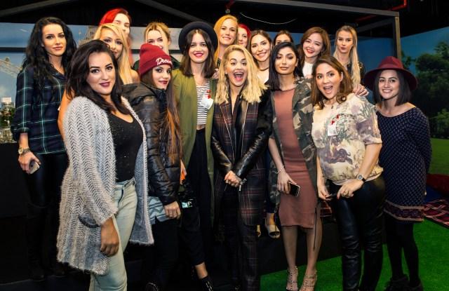Rita Ora Rimmel The London Look International Contest With Rita Ora