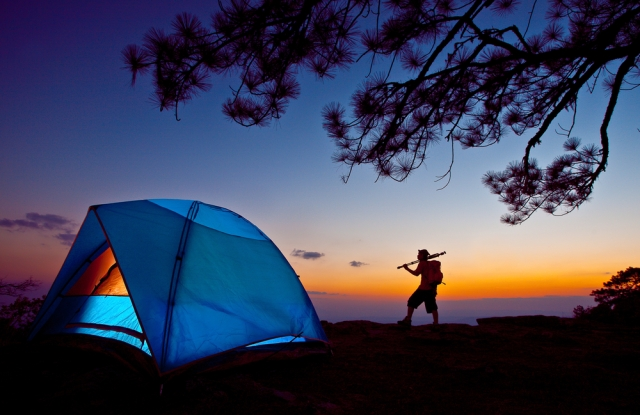 NPD said sales of camping gear experienced double-digit growth in 2015.