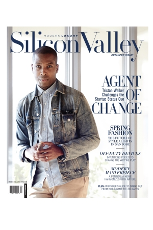 The cover of Modern Luxury's Silicon Valley.