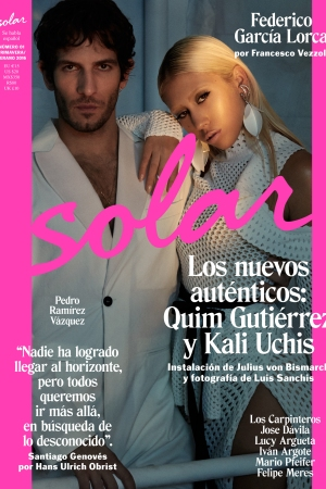 The cover of Solar's inaugural issue.