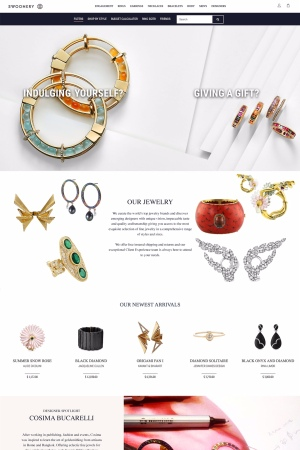 Swoonery home page