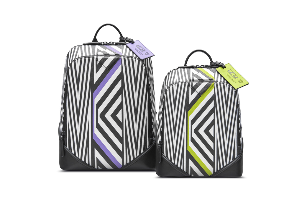 The Duke backpack by MCM x Tobias Rehberger
