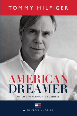 """Tommy Hilfiger's """"American Dreamer"""" cover art ."""