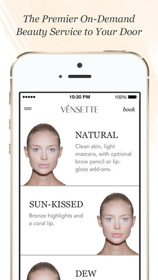 vensette app screenshot iphone