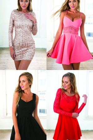 Dresses from the UsTrendy Web site.