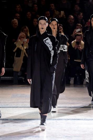 Yohji Yamamoto show, Runway, Autumn Winter 2016, Paris Fashion Week, France - 04 Mar 2016